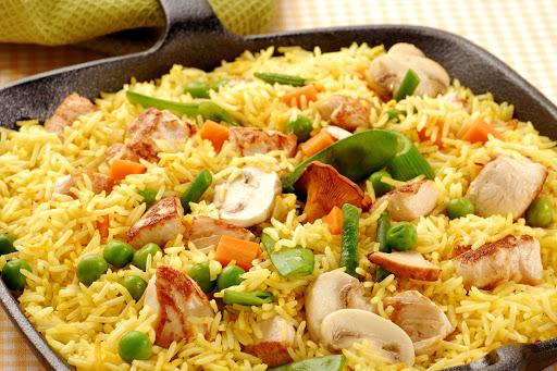 Sopa de arroz a la valenciana